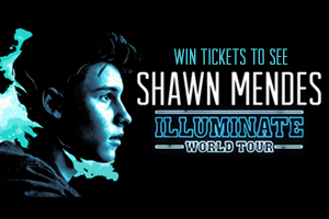 Win Tickets To See Shawn Mendes Illuminate World Tour!