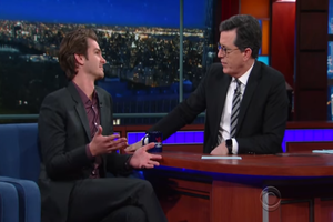 Andrew Garfield Explains That Kiss He Shared with Ryan Reynolds