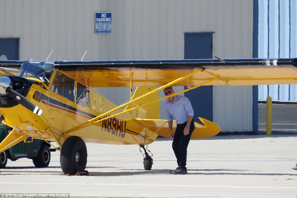 Harrison Ford Being Investigated After Flying Jet Over Passenger Plane